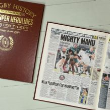 England Club Rugby History - Newspaper Book